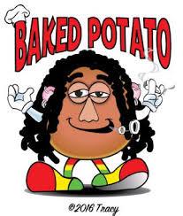 baked potato clip art. Contemporary Clip Original Color Vector Design Of A Stoned Baked Potato Clipart Clipart Of  Potato Intended Potato Clip Art E