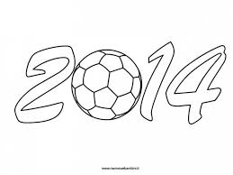 Disegno Da Colorare Mondiali Calcio Mamma E Bambini