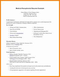 Medical Assistant Objective Statement Example Medical Assistant Resume With Externship Medical