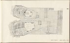plan of halls sydney opera house yellow book nrs 12708