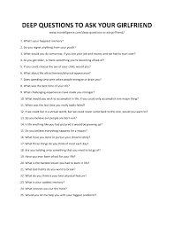 66 Deep Questions To Ask Your Girlfriend Spark Great Conversations