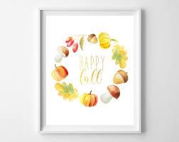 15 Gorgeous Fall Wall Art Printables