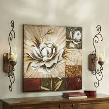 magnolia metal wall decor phenomenal hand painted canvas glass sconce from home design 5 on magnolia canvas wall art with magnolia metal wall decor phenomenal hand painted canvas glass
