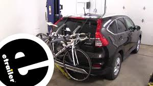 Etrailer Saris Bones Trunk Bike Racks Review 2015 Honda Cr V