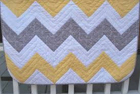 Chevron Quilt Pattern Simple Baby Chevron The Piper's Girls