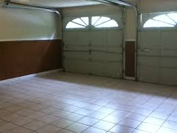 what s the point of a tile floor in a garage i d be afraid to the tile by driving my car on it maybe they decided to make living space out of