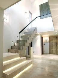 under stair lighting inspiration for a contemporary wooden l shaped staircase remodel in stairs9 stairs