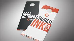 Design Door Hanger Impressive Design