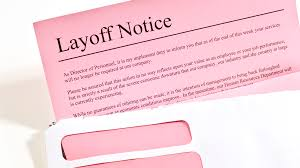 Employee Lay Off Letter What To Do If You Are Laid Off From Work