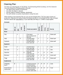 Restaurant Cleaning Checklist Penkrit Co