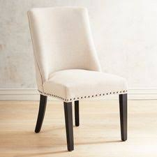 dining room chairs. Delighful Dining Corinne Linen Dining Chair With Black Espresso Wood For Room Chairs