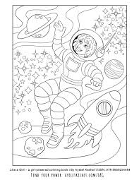 These coloring pages for girls offer positive pictures for girls to color and hang in their rooms. Free Printable Coloring Pages With An Empowering Message For Girls