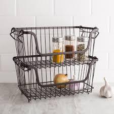 w039441 ksp ashley stacking wire basket
