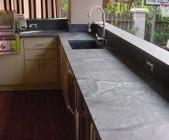 Outdoor Kitchen Countertop Kitchen White Kitchen With Soapstone Countertop Inspiration