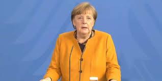 Bundeskanzlerin merkel räumte ihren fehler hinsichtlich der nun aufgehobenen ruhetage ein. Paahta20vbxkum