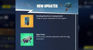Vending Machine Finder Beauteous Fortnite BR Vending Machine Locations How To Trade Materials For Gear