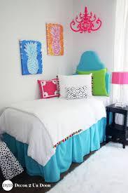 colorful pom pom tassel fringe designer teen girls bedding