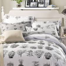 100 cotton flower bedding sets tree duvet cover feather shoe owl tiger print sheet bed