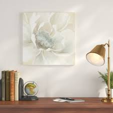 winter blooms i painting print on wrapped canvas on winter blooms ii canvas wall art with winter blooms wall art wayfair