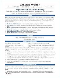 Babysitting Resume Samples Best Of Baby Sitter Resume Igniteresumes