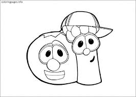 Small Picture VEGGIE TALES Coloring Pages PDF Free coloring pages