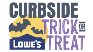 lowes curbside trick or treating