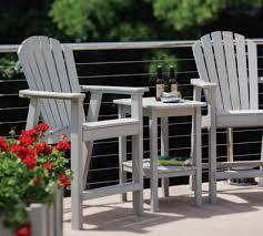 Seaside Casual Shellback Balcony Chair EnviroWood SEA017