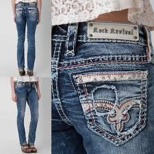 Nwt New Womens Rock Revival Tibbie Boot Jeans 25 28 29 30 31