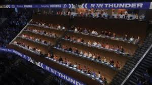 Tampa Bay Lightning Cutting The Ribbon On Sold Out Loge Boxes