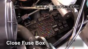 blown fuse check 1996 2014 gmc savana 3500 2003 gmc savana 3500 6 replace cover secure the cover and test component