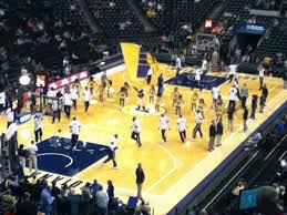 Pacers Game Seating Chart Indiana Pacers Basketball Game At Bankers Life Fieldhouse In