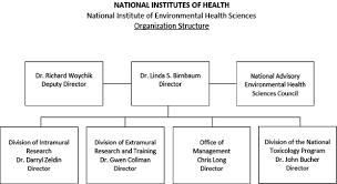 Nih Organizational Chart Organization Chart