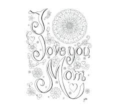 Ideas I Love You Coloring Books Or I Love Mom Coloring Pages