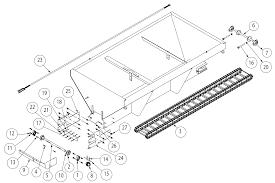 Parts and diagrams saltdogg hopper spreader iteparts