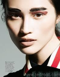 jed root makeup artists page editorial harper s bazaar an yoshiaki
