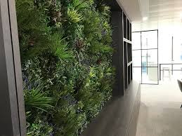 green wall office. Office Green Wall Installation
