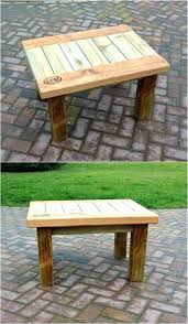 garden furniture made from pallets. Patio Ideas Little Table Made With Pallets Wood Outdoor Furniture Out Of Garden From F