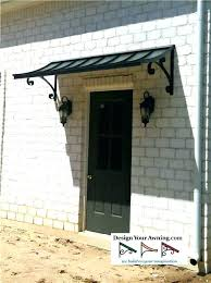 diy door awnings door awning plans source a the concave gallery metal awnings projects gallery of diy door