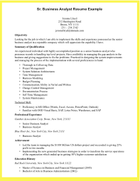 Business Analyst Sample Resume New Business Analyst Resume Sample
