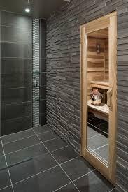 Basement Spa Bath and Sauna contemporary-bathroom