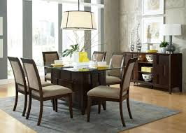 dining room rectangular thick clear glass dining table top ivory natural stone carving dining table base