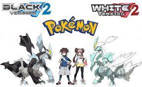 Black And White Pokemon Characters   Pokémon black and white, Black pokemon,  Pokemon