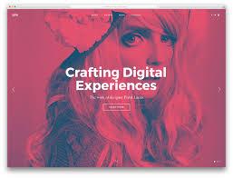 awesome wordpress portfolio themes to showcase your work  pile fullcreen portfolio wp website template