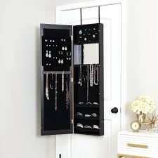 armoires joyus jewelry armoire mercury row modern over the door jewelry with mirror awesome collection