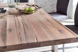 Tisch New York Eiche Weiß Gekälkt Von Massivdirekt Möbel Letz