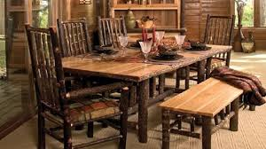 rustic dining room chairs. Rustic Dining Room Set With Bench 11295 Amazing Table In 9 Chairs
