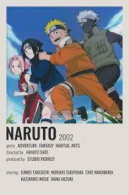 naruto poster in 2021 | Anime reccomendations, Anime printables, Anime films