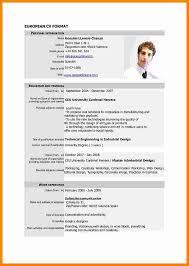 8 Curriculum Vitae English Example Pdf Theorynpractice