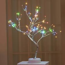 Wedding Tree Lights Amazon Com Beitai Coquimbo 36 108 Leds Night Light Bonsai