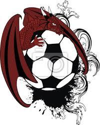 Fototapeta Drak Hřeben Kabát Tetování Zbraně Fotbal